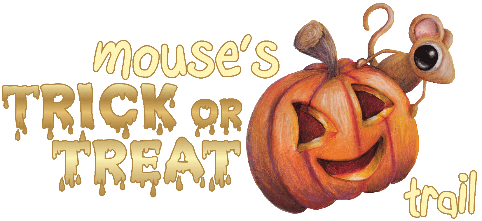 Mouse's Trick or Treat Puzzle Trail